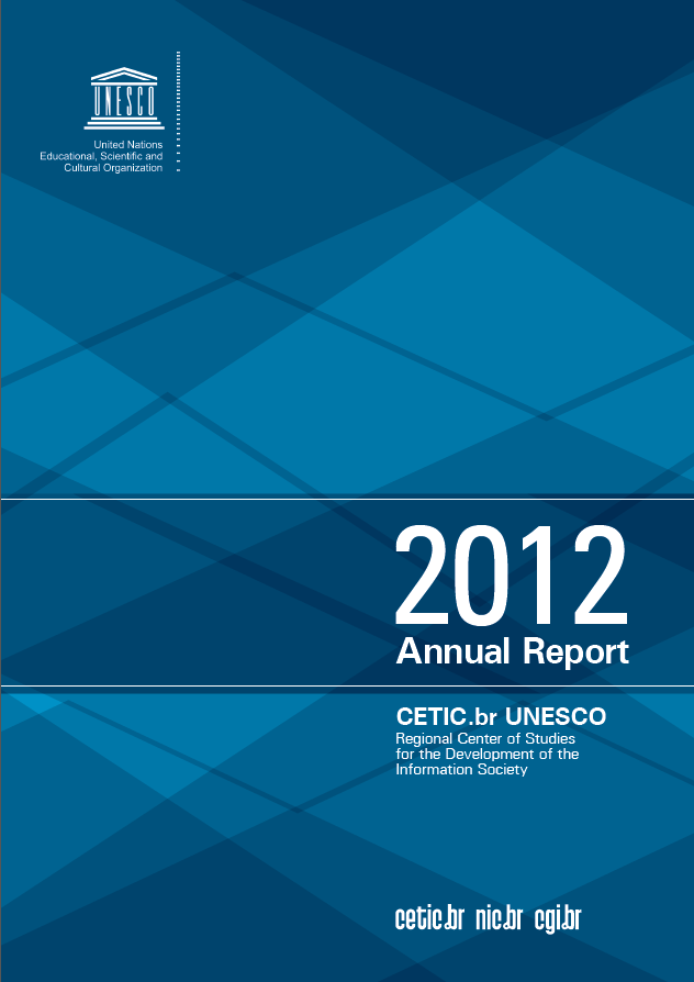 Cetic.br Annual Report 2012