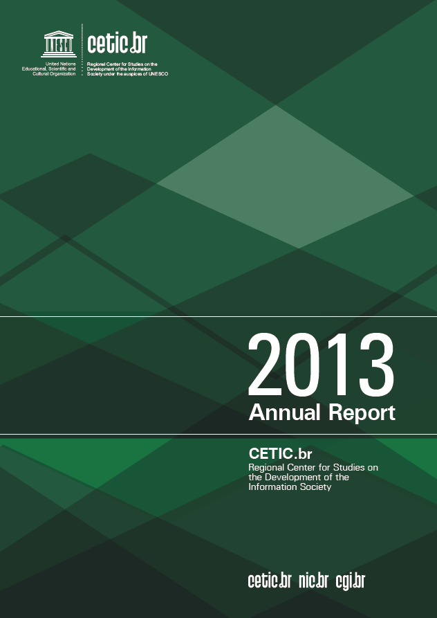 Cetic.br Annual Report 2013