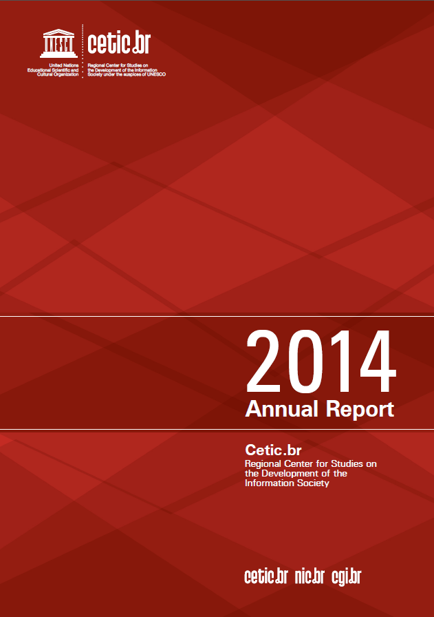 Cetic.br Annual Report 2014