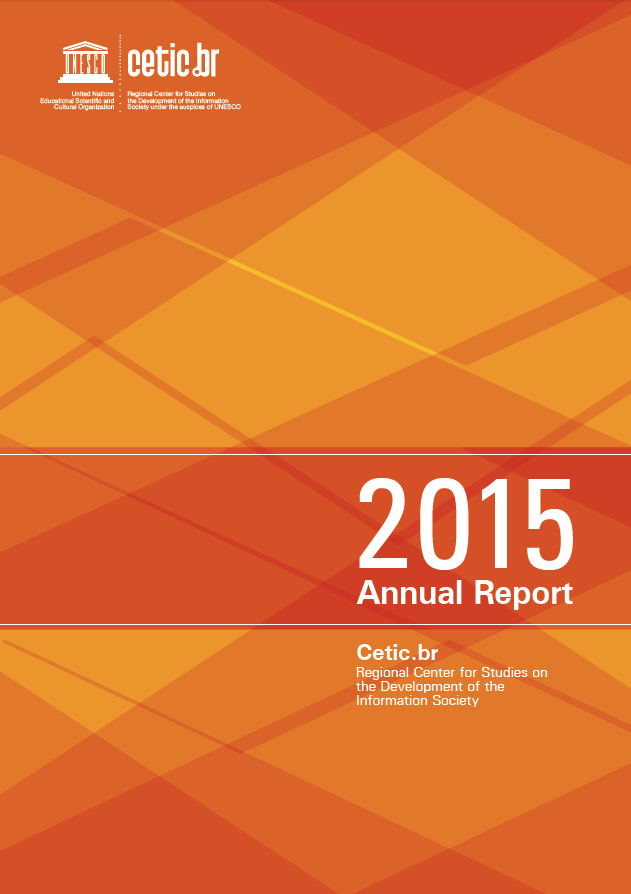 Cetic.br Annual Report 2015